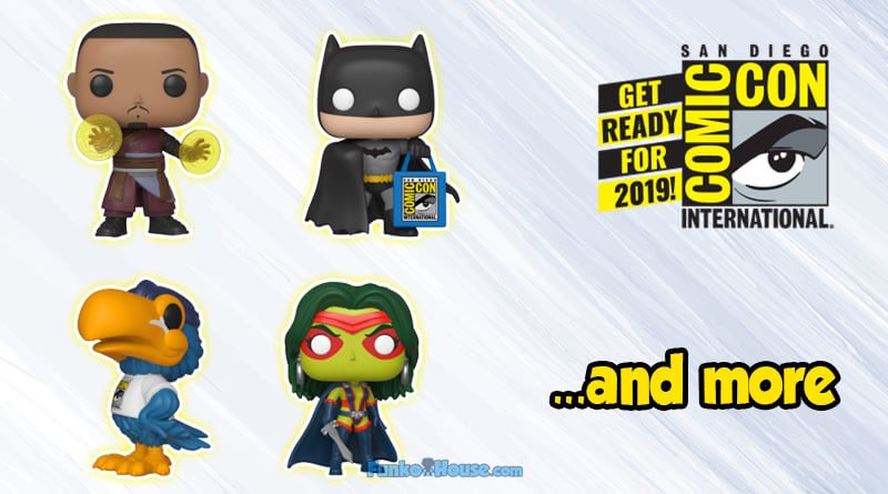You Can Now Buy The SDCC 2019 Exclusive Funko Pops, Full