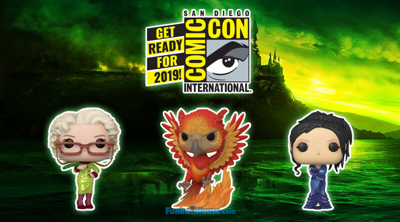 San Diego Comic Con 2019 Funko Pops Harry Potter