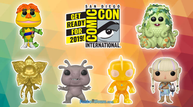 More SDCC 2019 Funko Pop Reveal: Television Funko Pop Exclusives!