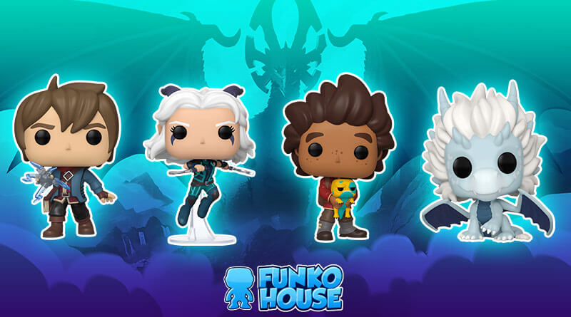 Funko Pop Animation-The Dragon Prince-Ezran Vinyl Figure