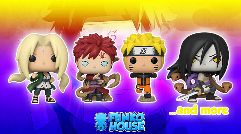 Available Now Naruto Funko Pops Sexy Jutsu Naruto Vs Sasuke More